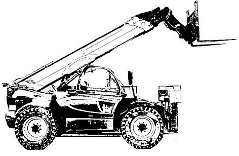 Empilhador Telescopico